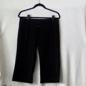 Maurice's Dress Capri 7/8 Black Excellent Conditio